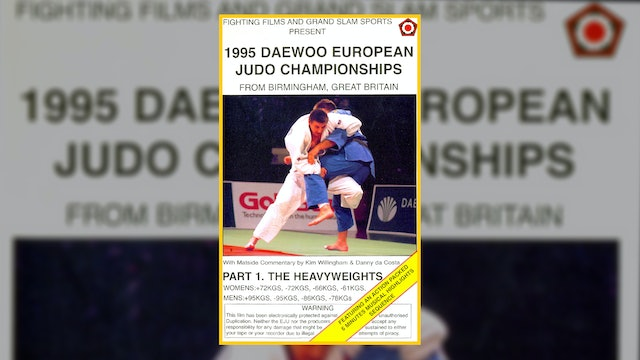 1995 European Championships: Heavyweights