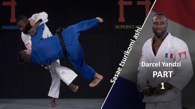 Sasae tsurikomi ashi | Darcel Yandzi