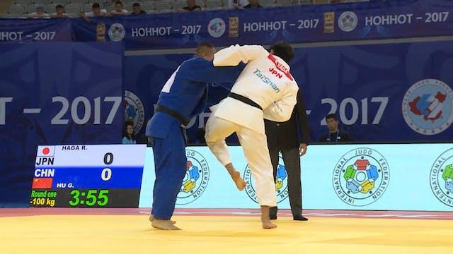101: Uchi mata - JPN v CHN -100kg