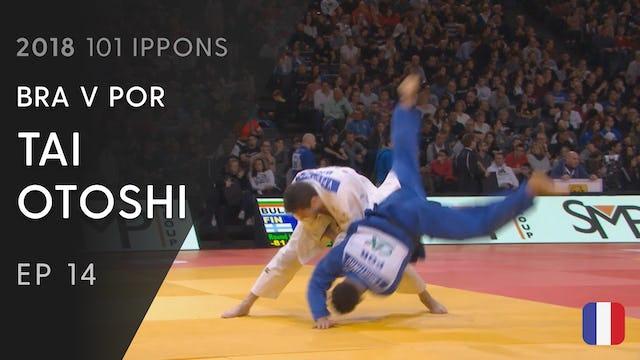 101: Tai otoshi - BRA v POR -81kg