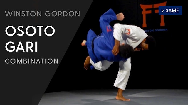 Kosoto gari - Osoto gari combination | Winston Gordon
