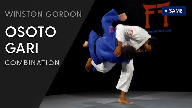 Kosoto gari - Osoto gari combination ...