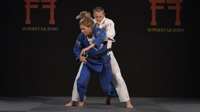 Keeping hold from failed attack | Judo Principles