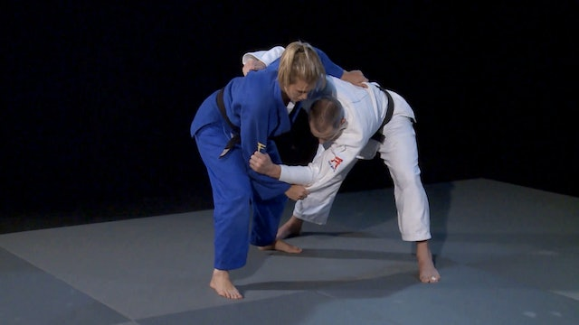 Forcing movement, using the chop | Judo Principles