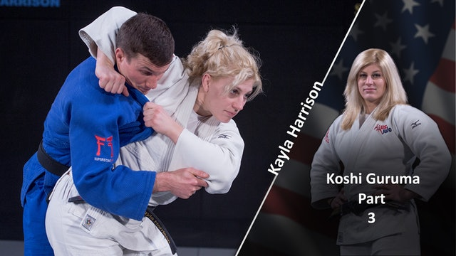 Koshi guruma - Hips and Alternative Grips vs Opposite | Kayla Harrison
