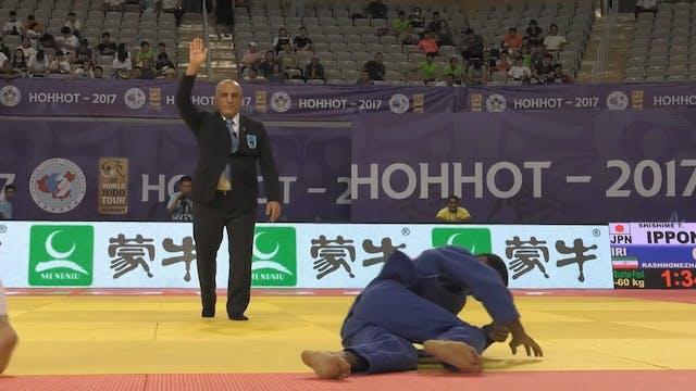 101: Osoto gari - JPN v IRI -60kg