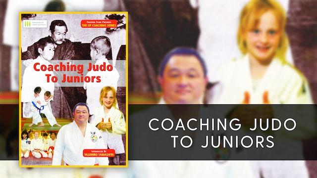 Coaching Judo To Juniors