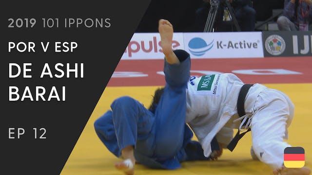 101: De ashi barai - POR v ESP -48kg