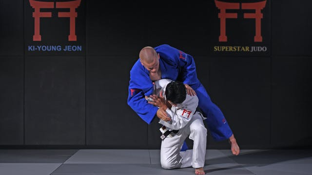 One handed Seoi nage | Korean Judo