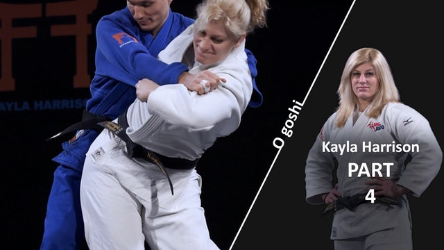 O goshi - Execution | Kayla Harrison