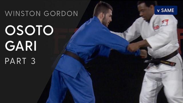 Osoto gari - Legs | Winston Gordon