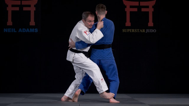Ardanov's Kosoto gari from Uchi mata set-up | Neil Adams