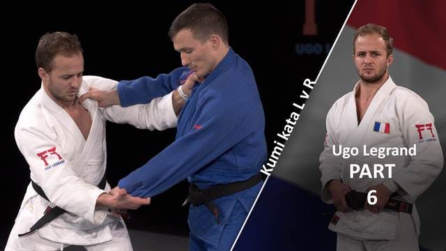 Kumi kata - Pinning the sleeve using outside seam | Ugo Legrand