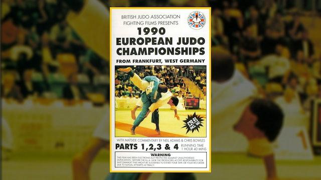 1990 European Judo Championships: Parts 1 - 4