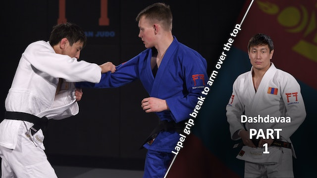 Lapel grip break vs right | Dashdavaa