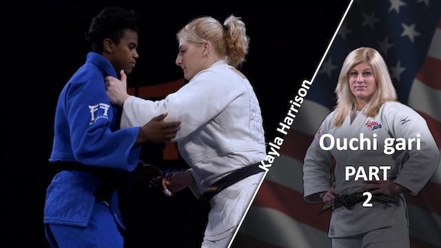Ouchi gari - Grips vs Same | Kayla Harrison