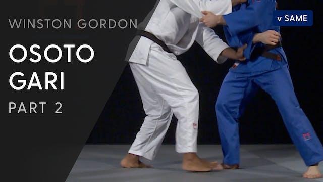 Osoto gari - Arms | Winston Gordon