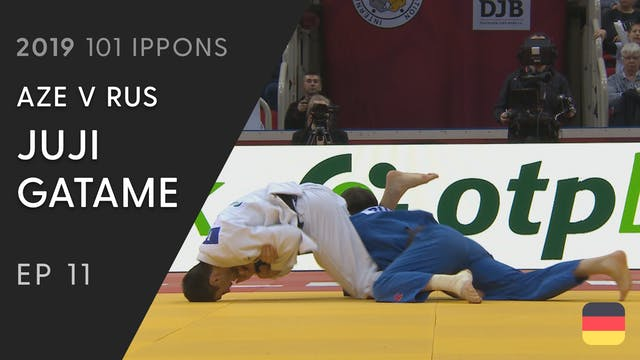 101: Juji gatame - AZE v RUS -73kg