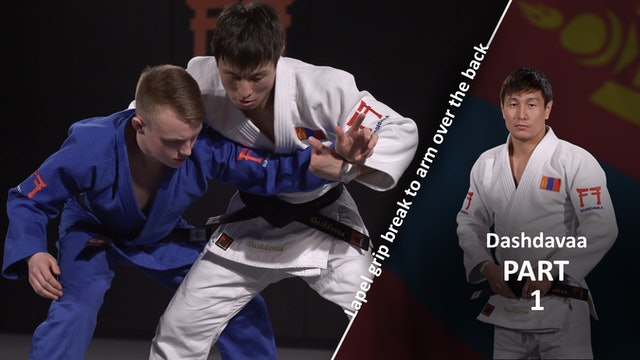 Lapel grip break - Overview vs left | Dashdavaa