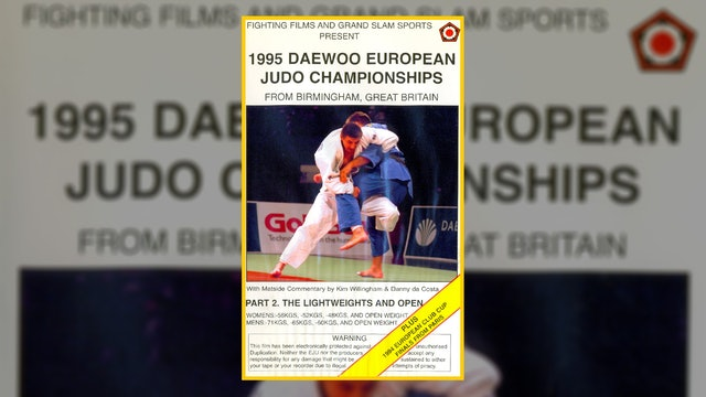 1995 European Championships: Lightweights & Open
