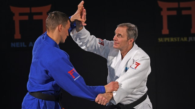 Davaadorj beating Zantaraia in Paris | Neil Adams
