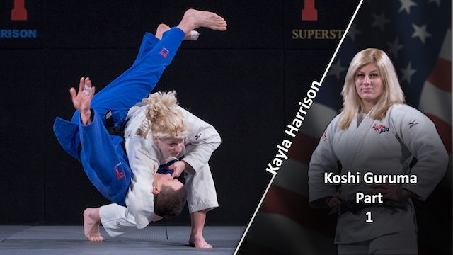 Koshi guruma vs Opposite | Kayla Harrison