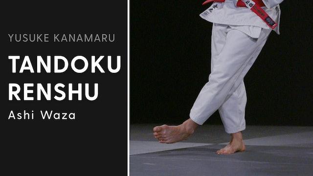 Ashi Waza | Tandoku Renshu | Yusuke Kanamaru