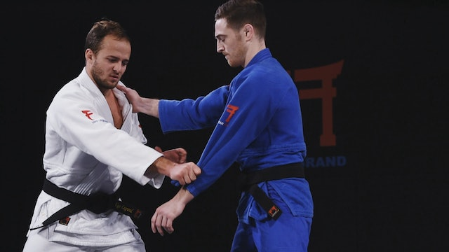 Spinning Uchi mata - Kumi kata & Preparation | Ugo Legrand