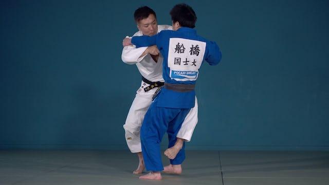 One handed vs left | Keiji Suzuki