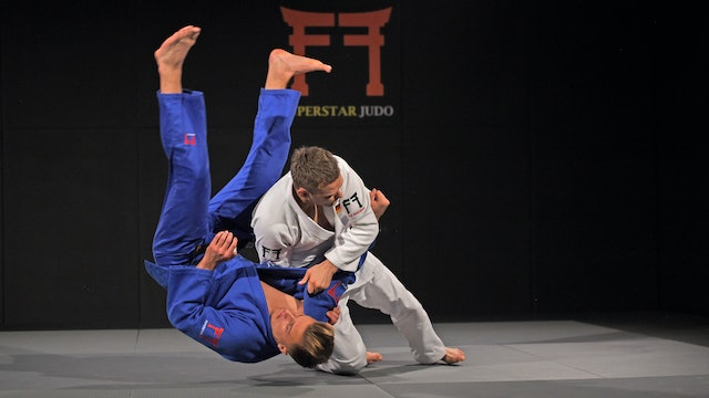 Drop Seoi nage - Direction and legs | Ole Bischof
