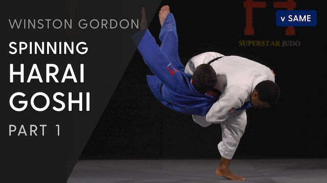 Spinning Harai goshi - Overview | Winston Gordon