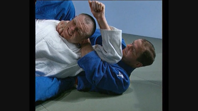 Neil Adams - Kata ha jime - Adding the leg over the shoulder