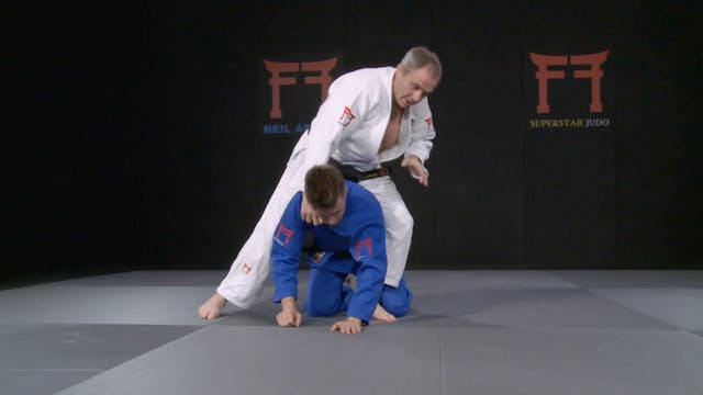 Shime waza transition | Neil Adams