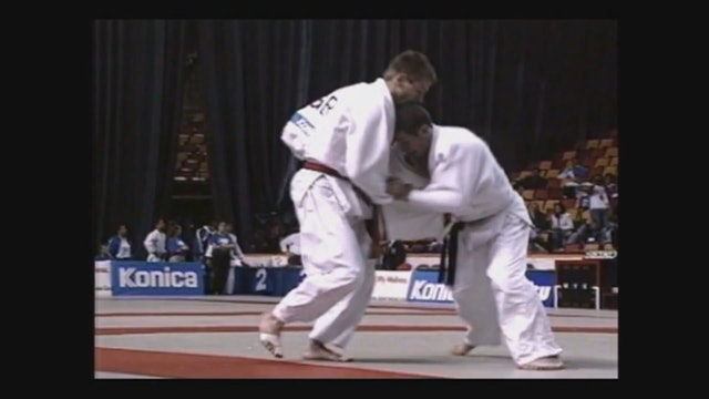 Neil Adams - Tai otoshi - Double stab