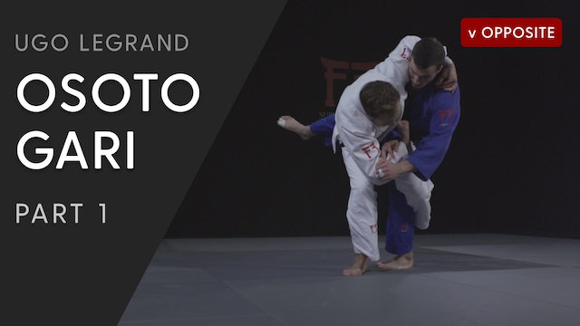 Osoto gari - Overview vs opposite | Ugo Legrand
