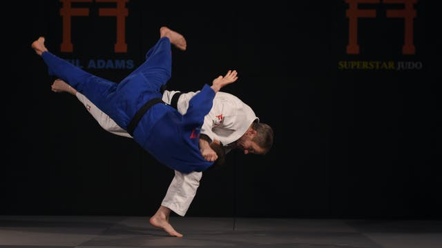 Hand control for Uchi Mata | Neil Adams