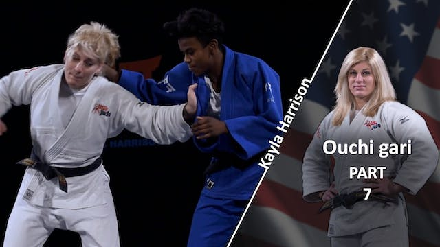 Ouchi gari as an escape | Kayla Harrison