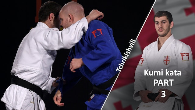 Breaking Off The Lapel Grip To Arm Over The Top | Kumi Kata | Tchrikishvili
