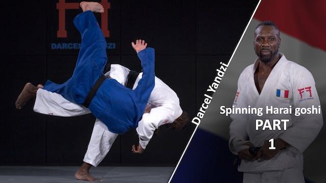 Spinning Harai goshi | Darcel Yandzi