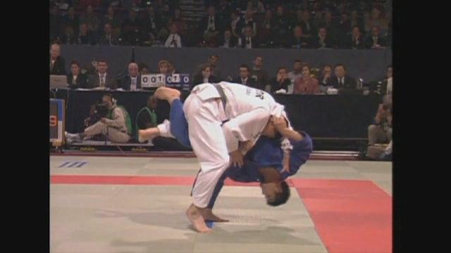 Kosei Inoue - Uchi mata from Ouchi gari attack