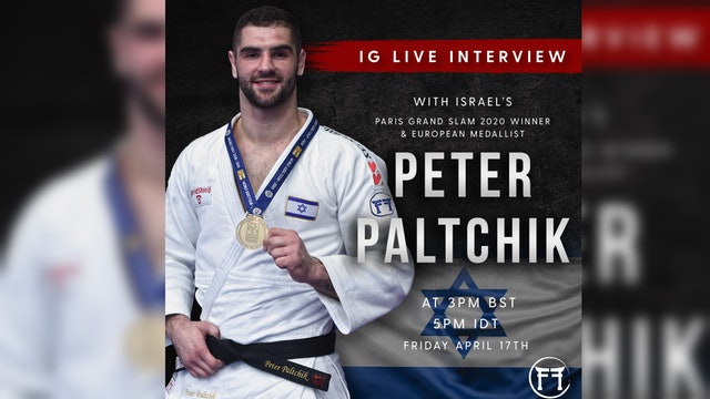 IG Live With Peter Paltchik