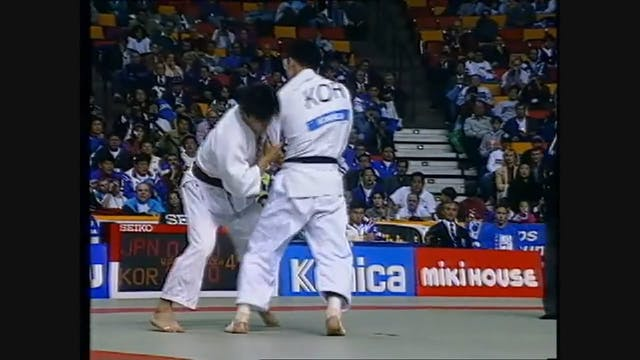 Kumi kata - Dealing with outside left...