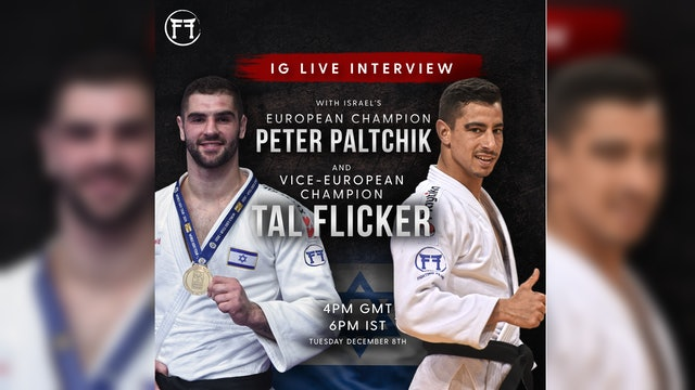 IG Live With Tal Flicker & Peter Paltchik