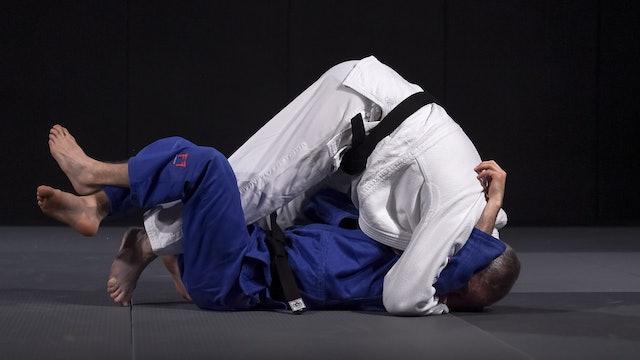 Krpalek's leg escape into Osaekomi   Neil Adams