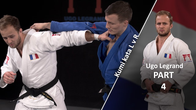 Kumi kata - Controlling lapel, creating distance vs opposite | Ugo Legrand