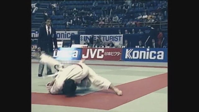 Neil Adams - Uchi mata - Head wrap