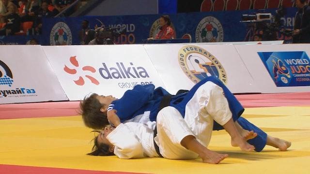 101:Osoto otoshi - ESP v KOR -48kg