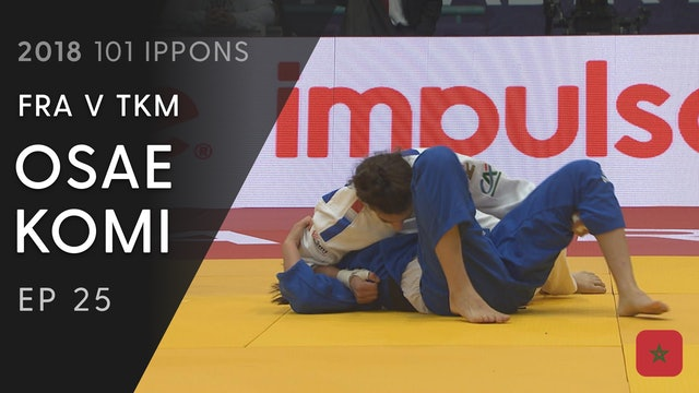 101: Osae komi - FRA v TKM -57kg