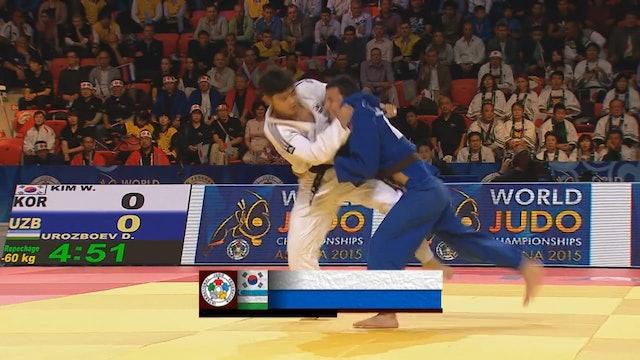 101: Soto makikomi - KOR v UZB -60kg