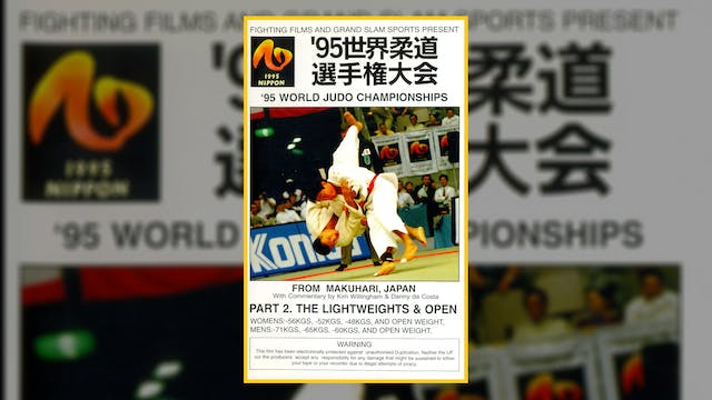 1995 World Judo Championships: Heavyw...